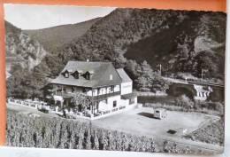 Rare PHOTO Walporzheim Hotel Gasthaus Bauernschenke  Animé Camionnette  Voyagé 1957 Timbre Beau Cachet - Restaurants