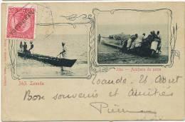 Loanda 343 Ilha Azafama Da Pesca Edit Osorio Timbrée - Angola