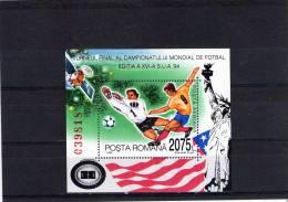 1994 -  CoUPE DU MONDE Aux Etats-Unis Mi Bl 290 Et Yv Bloc 236 MNH - 1948-.... Republiken