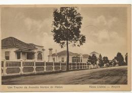 Nova Lisboa Um Trecho Da Avenida Norton De Matos  Edit Carlos Correa Vidal - Angola