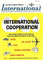 Air Force / Space Digest - INTERNATIONAL - MAY 1966 - German Aviation Show HANOVER -  Tank - Avion - Espace -   (3284) - Revistas & Periódicos