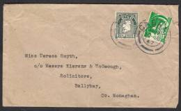 EIRE IRELAND - Postal History Cover 10.7.1947 Map Stamp - 1937-1949 Éire