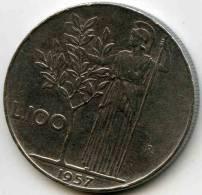 Italie Italia 100 Lire 1957 R KM 96.1 - 100 Lire