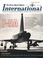 Air Force / Space Digest - INTERNATIONAL - FEBRUARY 1965 - Kennedy - Johnson - Eisenhower - Truman - Roosevelt  (3287) - Revistas & Periódicos