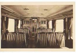 SNCF Du NORD AUTOMOTRICE STANDARD TYPE 1936 INTERIEUR Du COMPARTIMENT - Transports