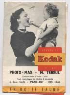POCHETTE PHOTOS--kodak-paris -A80 - Material Y Accesorios