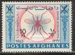 Afghanistan 1964 Malaria  Surcharge MNH - Afghanistan