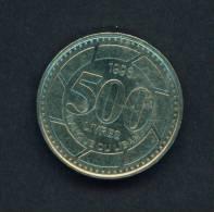 LEBANON - 1996 500l Circ. - Lebanon