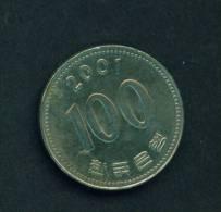 SOUTH KOREA - 2001 100w Circ. - Korea, South