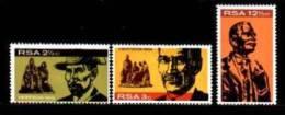RSA ,1968,  MNH Stamp(s)  Herzog Memorial, Nrs. 375-377 - South Africa (1961-...)