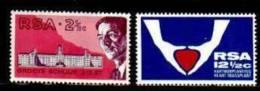 RSA ,1969,  MNH Stamp(s)  Medical Congress, Nrs. 382-383 - South Africa (1961-...)