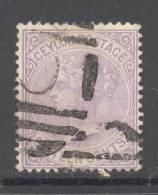 CEYLON, 1872 16c  (wmk Crown CC) Fine Used - Ceylon (...-1947)