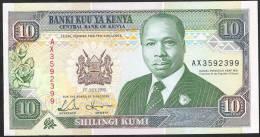 KENYA  P24e   10   SHILLINGS    1993     UNC. - Kenia