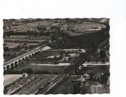 82   MOISSAC - Vue Aérienne Avec Le Pont Canal Et Le Pont Cacor - Moissac