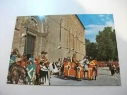 Arezzo Giostra Del Saracino  I Cavalieri Les Chevaliers The Knights Die Ritter - Arezzo