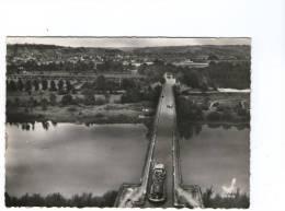 82 En Avion Au-dessus De.... MOISSAC - Une Péniche Sur Le Pont Canal - Moissac