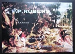 Briefmarke North Korea 1983 Rubens Block Kleinbogen - Rubens