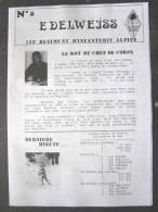 LIVRE - REVUE - JOURNAL N�8 L�EDELWEISS DU 159� RIA BRIANCON DE 1987 ETAT EXCELLENT