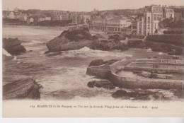 Biarritz Vue Sur La Grande Plage Prise De L'Attalaye - Biarritz
