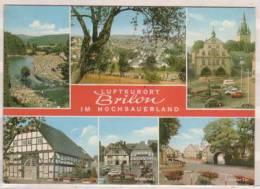 Luftkurort Brilon Im Hochsauerland , Mehrbildkarte Verkehrsamt - Marktplatz - Derker Tor - Brilon