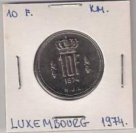 A9 Luxembourg 10 Francs 1974. UNC/AUNC - Luxemburgo