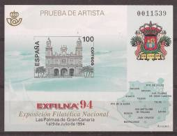 ESPO33-L1764TESO.España . Spain.Espagne.Gran Canarias .EXFILNA .1994.(Ed  PO 33) Sin Charnela. LUJO - Escudos De Armas