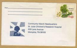 Enveloppe Community March Headquarters St. Jude Children's Research Hospital Memphis - Etats-Unis