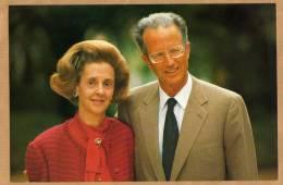 Leurs Majestés Baudouin Et Fabiola - Royal Families