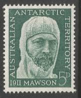 Australian Antarctic Territory. 1961 50th Anniv Of 1911-14 Australasian Antarctic Expedition. 5d MH - Australian Antarctic Territory (AAT)