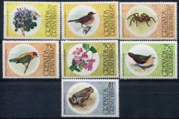 Grenada Grenadines                   132/138 **        Faune Et Flore - Grenada (1974-...)