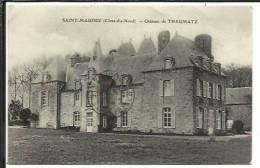 CPA ( Saint Maudez , Chateau De Thaumatz ) - Non Classés