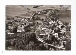 CSM : 18 - Cher - Osmery : Vue Aérienne : Maisons , église , Route , Campagne Environnante ... - France