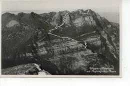 Wiggis Rautikette Mit Aufstieg über Auern 1941 - GL Glaris