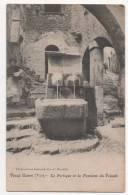 VIEUX CUERS - La Portique Et La Fontaine Du Poisson - Cuers