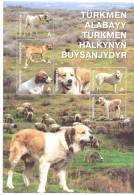 2013 Turkmenistan, Dogs Or Turkmenistan, S/s, Mint/** - Turkmenistán