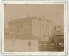 42 - PANISSIERE - Ecole De Garçons - Photo Véritable Montée Sur Carton 9.5cm X12.5cm Bon état - Anciennes (Av. 1900)