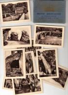 Grottes De Dar El Oued Et Route Bougie Djidelli 10 Photos N&B Format 6x9 Des Années 1950 Dans Carnet - Algeria