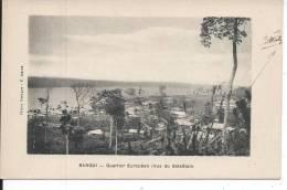 REPUBLIQUE CENTRAFRICAINE - BANGUI - Quartier Européen (vue Du Batailon) - Centrafricaine (République)