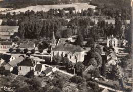 VIGNOUX-SUR-BARANGEON VUE AERIENNE L EGLISE ET LES PARFADETS - France