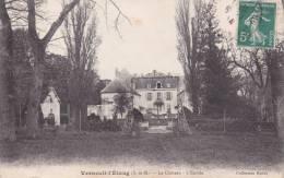 CPA 77 VERNEUIL-L'ETANG ,le Château. (1914) - Francia