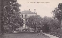 CPA 77 CHARTRETTES ,le Château Du Pressoir.(1915) - Frankreich
