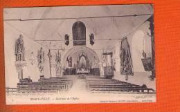 1 Cpa Berck Ville Interieur De L Eglise - Berck