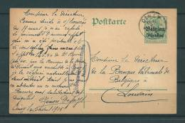 Postkaart Van Ciney Naar Louvain 06/04/1915 (GA9289) - Guerre 14-18