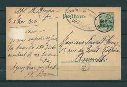 Postkaart Van Spa Naar Bruxelles 02/05/1916 (GA9396) - [OC1/25] General Gov.