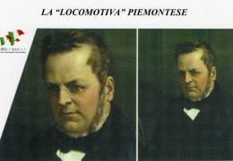 "[DC1462] CARTOLINEA - 150° ANNO UNITA´ D´ITALIA - LA ""LOCOMOTIVA"" PIEMONTESE - UNO STATO COSTITUZIONALE - CAVOUR (38) - Storia"