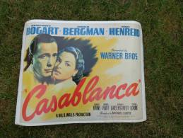 Affiche 60x45--film Casablanca Avec Bogart-bergman-henreid - Affiches