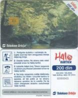 Telefonkarte Serbien  - Quellgebiet Vucjanke - Leskovac - Landschaft - Jugoslawien