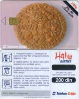 Telefonkarte Serbien  - Tradition - Brot - Jugoslawien