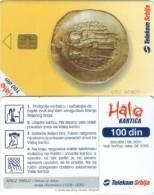 Telefonkarte Serbien  - Münzen - Jugoslawien