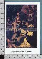 Xsb893 SAN DOMENICO DI GUZMAN Santino Holy Card - Religione & Esoterismo